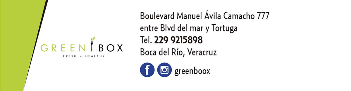 Punto de Venta GREEN BOX Fresh + Healthy